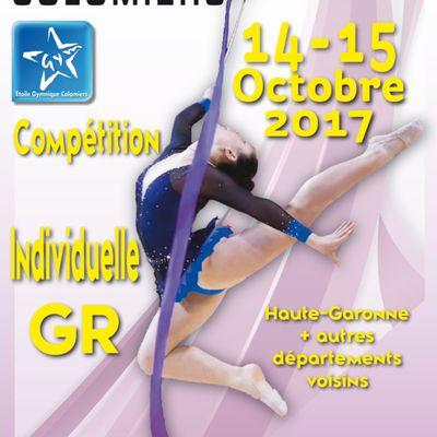 GR individuelle : Résultat compétition départementale