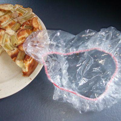 Une autre manière de protéger les aliments le film élastique