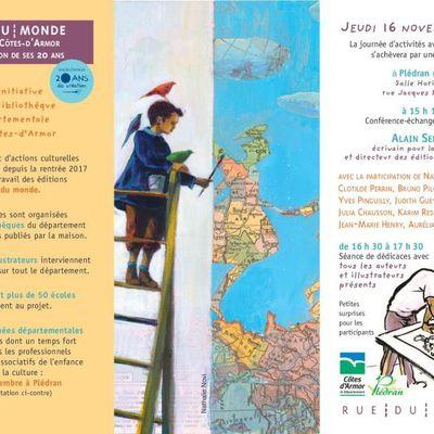 Journées départementales du livre organisées par la Bibliothèque des Côtes d'Armor