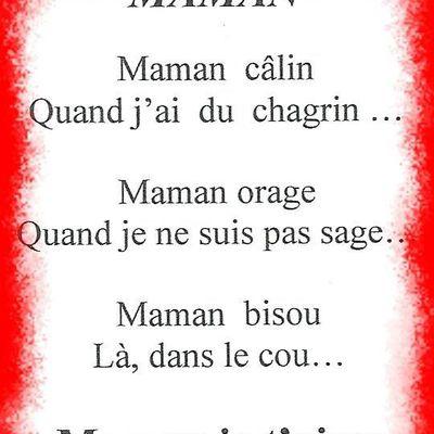 Poème maman