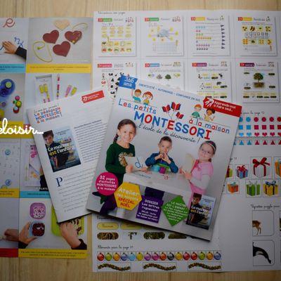 Les petits Montessori à la maison - Magazine 2 en kiosque