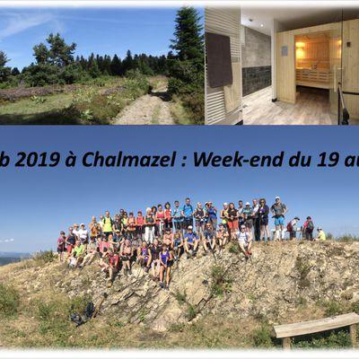 Stage à CHALMAZEL 2019 : Marche Nordique & Trail : Inscriptions ouvertes !