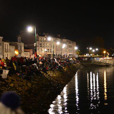 Votre reporter : au départ du Vendée globe challenge 2016 ( dimanche 6 novembre ).
