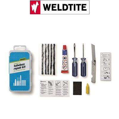 KIT DE REPARATION TUBELESS VTT WELDITE