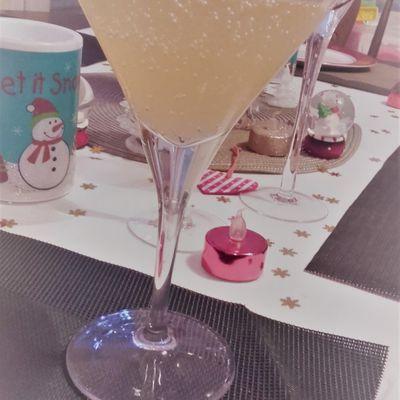Soupe Champenoise au Jus de Pamplemousse