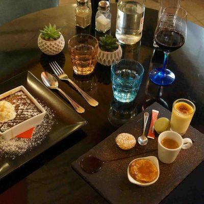 Où manger à Nice ? A La Table Gourmande à La Turbie {champagne et café offerts en venant de ma part}