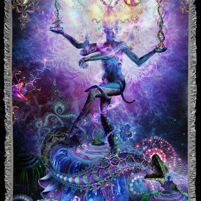 À l'intérieur Shiva danse