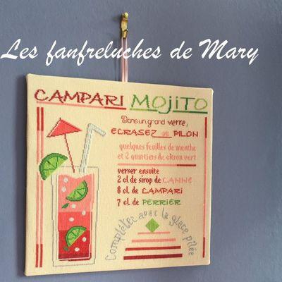 Thème Cocktail #2 : Campari Mojito