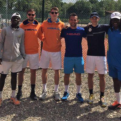 Chaud week-end de tennis au Floridor...