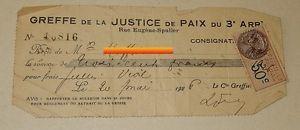 Acquittement du droit de timbre dû par les parties à l'instance d'appel.