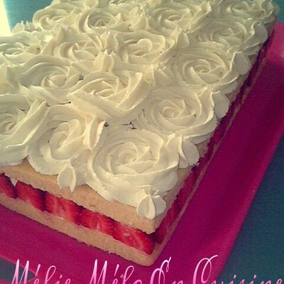 fraisier chantilly mascarpone