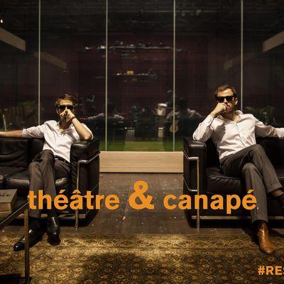 Odéon - Théâtre de l'Europe. Théâtre & Canapé - Decameron - Coronavirus COVID-19