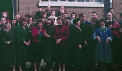 1957 : visite de la reine d'Angleterre à Roubaix