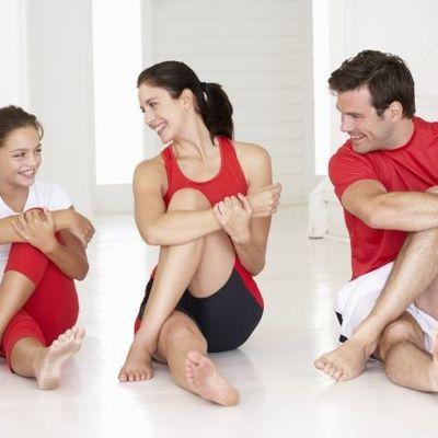 Respiracion en trabajos de flexibilidad (stretching)