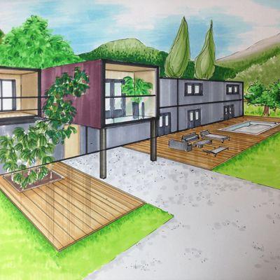 Maison Container moins polluante