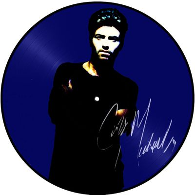 PICTURE DISC FREEDOM!'90'  DEDICACE PAR GEORGE MICHAEL A GAGNER !