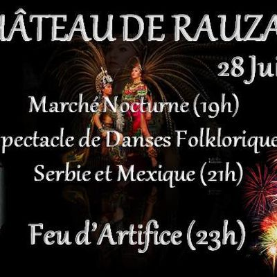 Grand Marché Nocturne, Grand Festival Folklore, Grand Feu d'Artifice