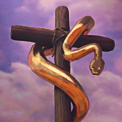 Le signe du serpent de bronze