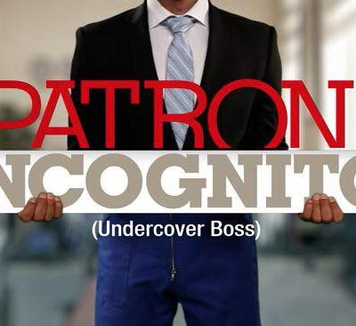 """""""Patron Incognito"""" de retour le 14 mars sur M6"""