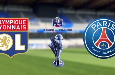 Olympique Lyonnais / Paris Saint-Germain : La Finale de la Coupe de France Féminine de football à suivre en direct ce soir sur France 4