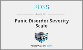 Panic Disorder Severity Scale (PDSS)