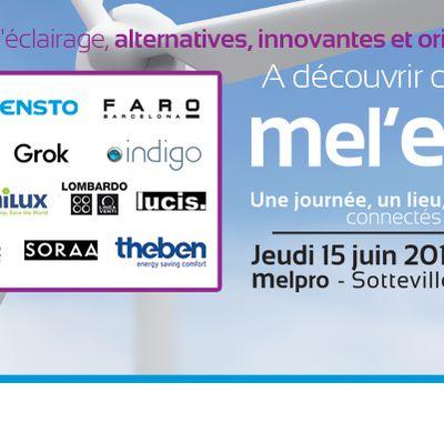 Rendez vous au salon Mel'Expo, jeudi 15 juin ! 41 fabricants vous donnent rendez-vous chez MELPRO