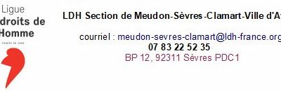 Section LDH de Meudon Sèvres Clamart