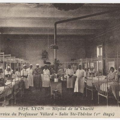 L'hôpital de La Charité, Lyon, 1900-1930