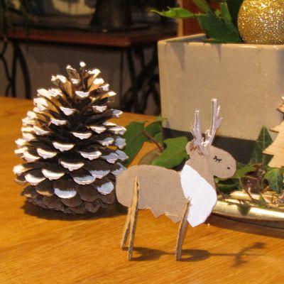 Atelier de Noël créatif