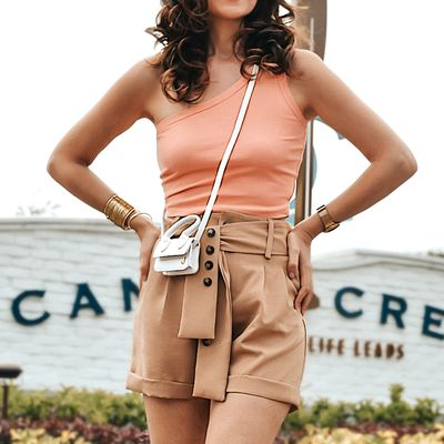 A short with a top: so basic, so chic
