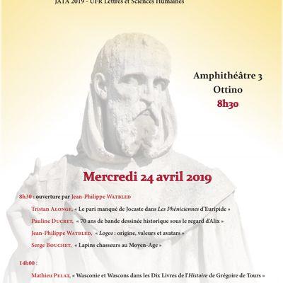 JATA Journée de l'Antiquité et des Temps Anciens