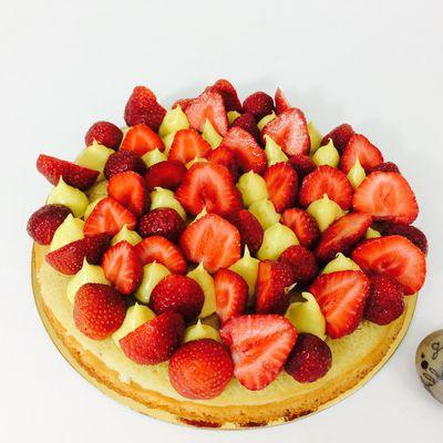 Tarte aux fraises revisitée façon Fantastik