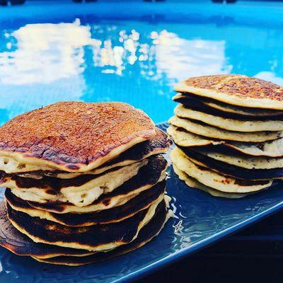 Les pancakes aux pommes