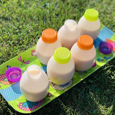 Le yaourt à boire au coing