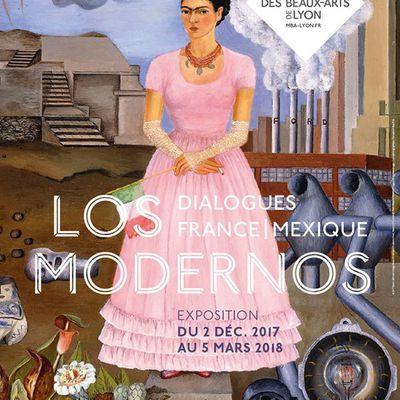France - Mexique : Los Modernos à Lyon