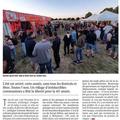 Saint-Quentin. La fête des libertés.