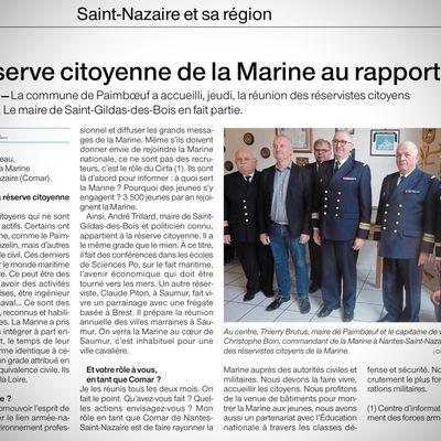 Au sein de la réserve citoyenne de la Marine
