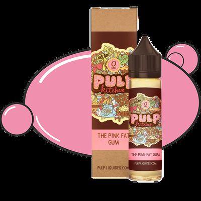 Test - Eliquide - The Pink Fat Gum de chez Pulp