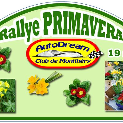 Rallye PRIMAVERA 19 mars 2017