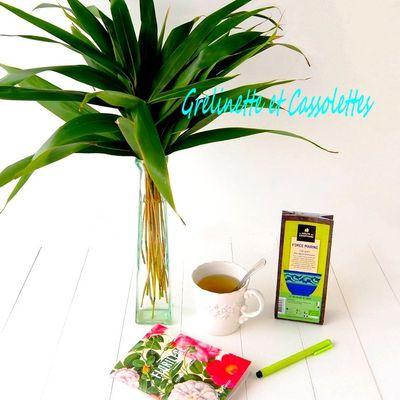 Thé Vert aux Algues