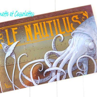 Le Nautilus, Jean Marc Deschamps et Gaël Dezothez aux Editions Vagnon
