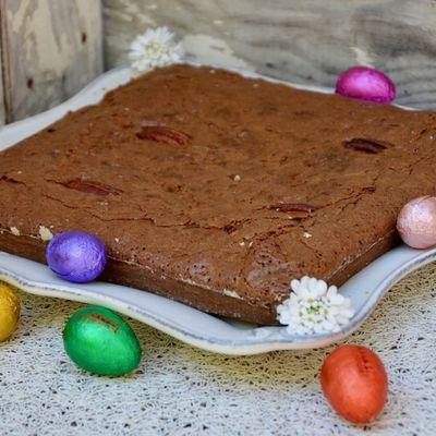 Brownie aux noix de Pecan de Cyril Lignac