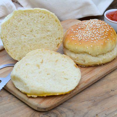 Pains burger maison