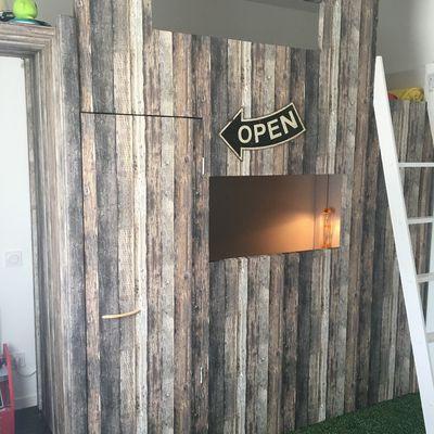 Un lit original pour enfant : Fabriquer un lit cabane