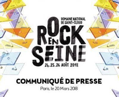 Rock en Seine 2018 > Découvrez les premiers noms! / ACTUALITE / CHANSON / MUSIQUE