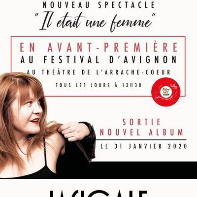Agnès Bihl : nouveau spectacle, avant-première à Avignon ! / INFOS MUSICALES