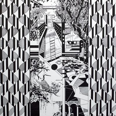 Exposition Solo Show: Chourouk HRIECH  « ... et des échelles pour les oiseaux »