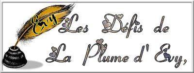 DEFIS DE LA PLUME D'EVY- 118- LE MARIAGE