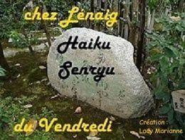 HAIKU-SENRYU CHEZ LENAIG- ESCALIERS