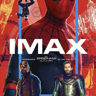 Spider-Man : Far From Home : poster Imax